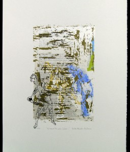 I'd heard that voice… - serigraph, 20.5x14.5 inches, ed.: 10