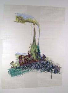 Ontario Landscape - serigraph, 42x30 inches, ed.: 8